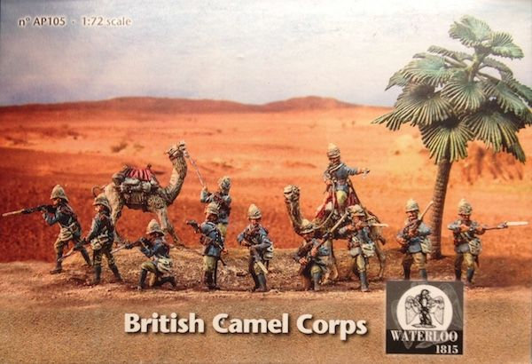 Waterloo 1815 1/72 British Colonial Camel Corps # AP105