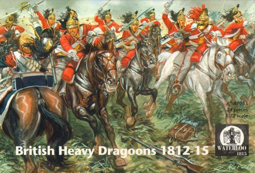 Waterloo 1815 1/72 British Heavy Dragoons 1812-1815 # AP053