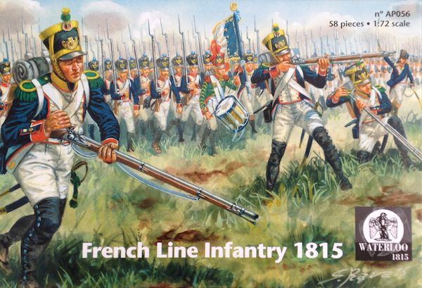 Waterloo 1815 1/72 French Line Infantry 1815 # AP056