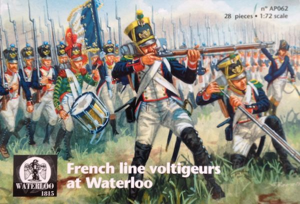 Waterloo 1815 1/72 French Line Voltigeurs at Waterloo # AP062