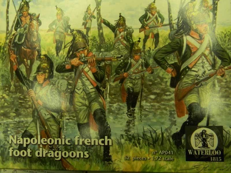 Waterloo 1815 1/72 Napoleonic French Foot Dragoons 1808-1815 # AP041