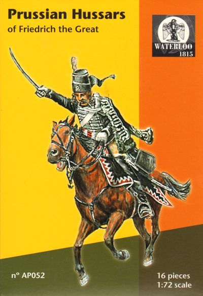 Waterloo 1815 1/72 Prussian Hussars Of Freidrich The Great # AP0