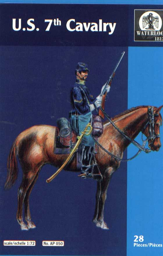 Waterloo 1815 1/72 U.S. 7th Cavalry # AP050