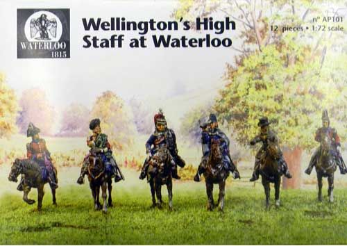 Waterloo 1815 1/72 Wellington High Staff at Waterloo - metal # A