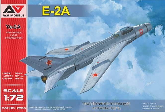 A & A Models 1/72 Ye-2A Pre-Series Light Interceptor # 7220