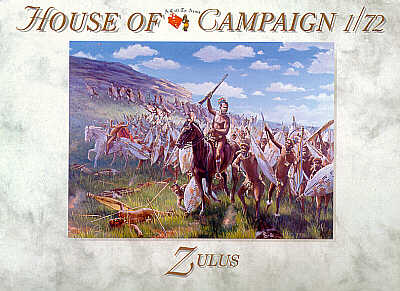 A Call to Arms 1/72 Zulus # 7256