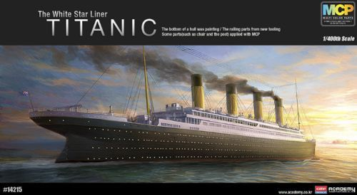 Academy 1/400 R.M.S Titanic (MCP Version) # 14215