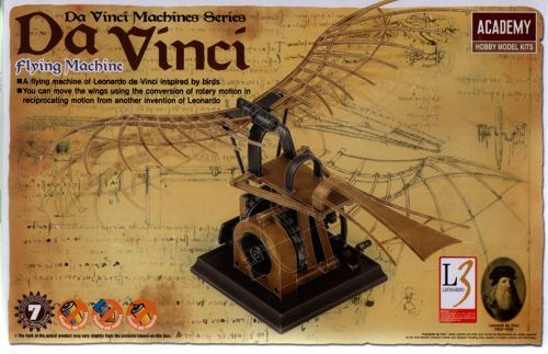 Academy Da Vinci Machines Series Flying Machine # 18146