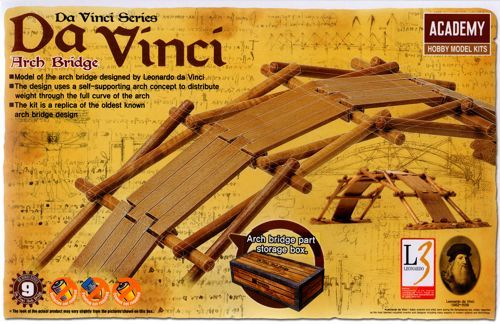 Academy Da Vinci Series - Arch Bridge # 18153