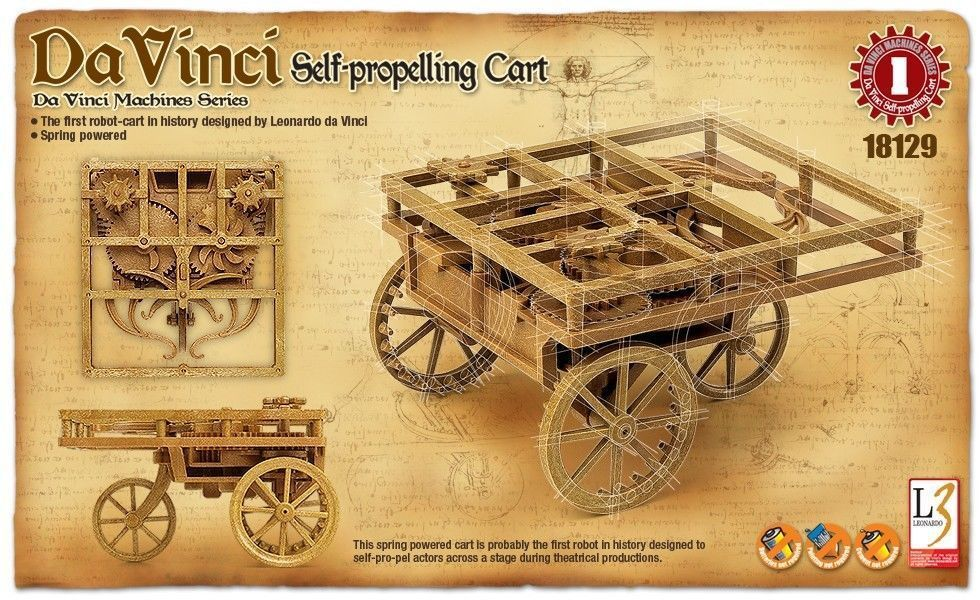 Academy Da Vinci Series - Self-Propelling Cart # 18129