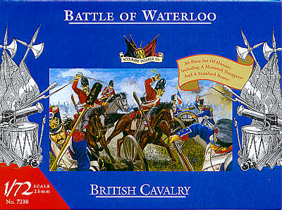 Accurate Figures 1/72 Waterloo British Cavalry # 7210
