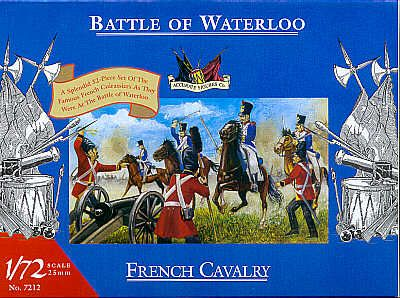 Accurate Figures 1/72 Waterloo French Cavalry # 7212