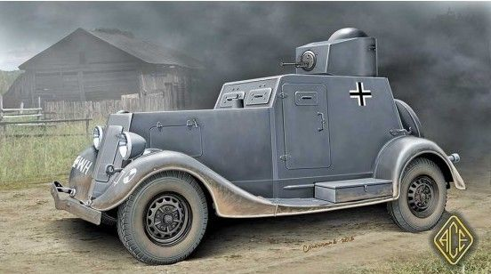 Ace 1/48 BA-20 Light Armored Car (Early) # 48108