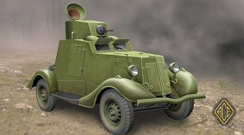 Ace 1/48 FAI-M Soviet Light Armoured Car # 48107