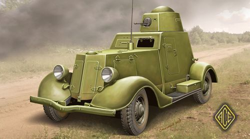 Ace 1/48 Russian BA-20 Light Armoured Car Late Production # 48109