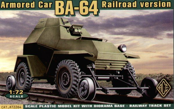 Ace 1/72 BA-64 Railroad Version # 72264
