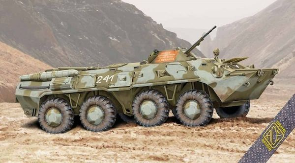 Ace 1/72 BTR-80 Soviet Armored Personnel Carrier Early Production # 72171
