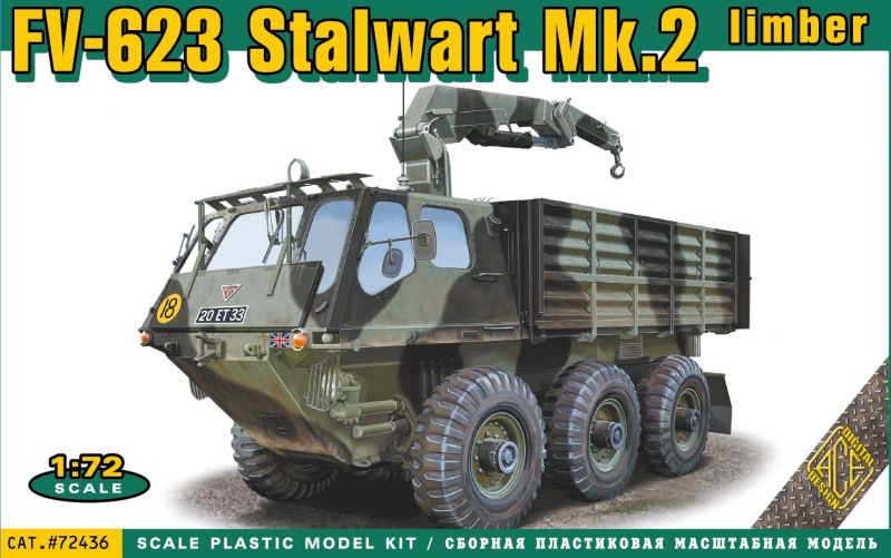 ACE 72171 BTR-80 Soviet armored personnel carrier early prod 1//72  model kit