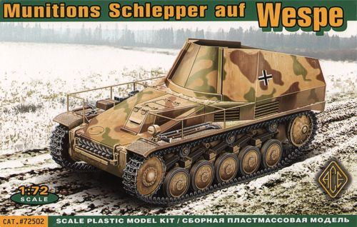 Ace 1/72 Munitions Schlepper auf Wespe # 72502
