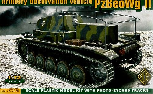 Ace 1/72 PzBeoWg II Artillery Observation Tank # 72270