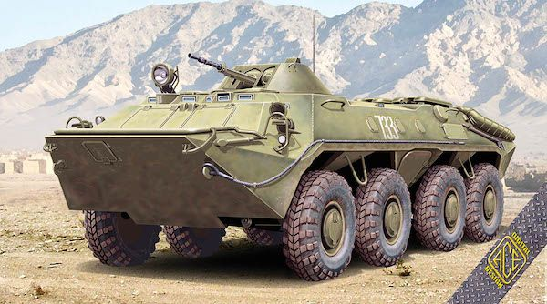 Ace 1/72 Russian BTR-70 Soviet Armored Personnel Carrier Early Production # 72164