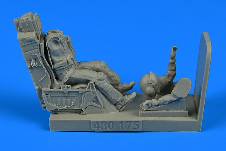 Aerobonus 1/48 USAF Fighter Pilot with Ejection Seat for Lockheed-Martin F-16 # 480175