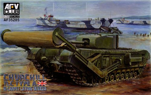 AFV 1/35 Churchill Mk.IV Type A Carpet Layer # AF35285