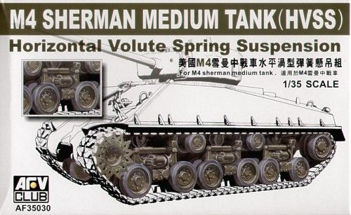 AFV Club 1/35 M4 Sherman Medium Tank Horizontal Volute Spring Suspension # AF35030