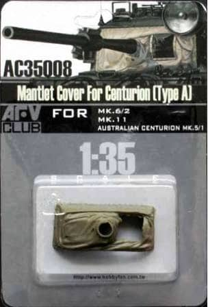 AFV Club 1/35 Mantlet Cover for Centurion (Type A) # AC35008