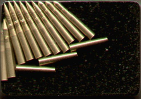 AFV Club 1/35 US 90mm Gun Brass Ammunition # 35076