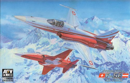 AFV Club 1/48 Northrop F-5E Austria/Swiss Air Force # AR48S06