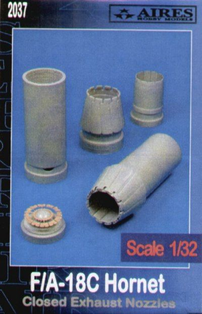 Aires 1/32  F/A-18C Hornet Closed Exhaust Nozzles # 2037
