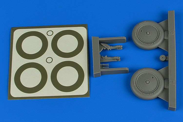 Aires 1/32 Polikarpov I-16 Wheels & Paint Masks # 2236