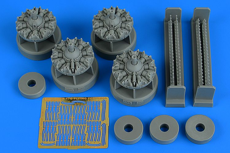 Aires 1/48 Boeing B-17G Flying Fortress Engine Set # 4805