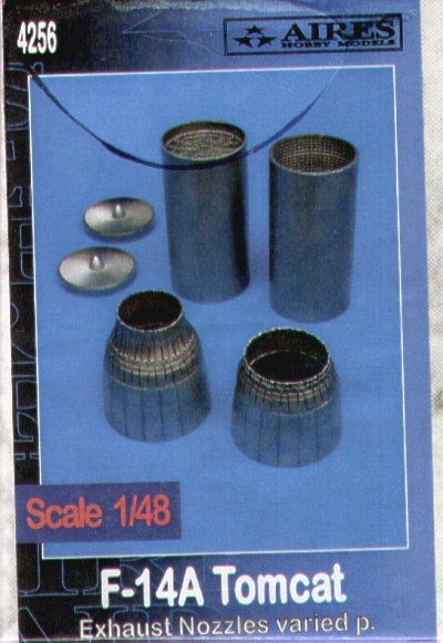 Aires 1/48  F-14A Tomcat Exhaust Nozzles Varied # 4256