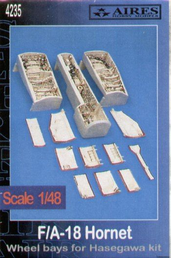 Aires 1/48  F/A-18 Hornet Wheel Bays # 4235