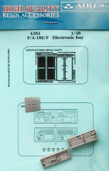 Aires 1/48  F/A-18E/F Super Hornet Electronic Bay # 4283