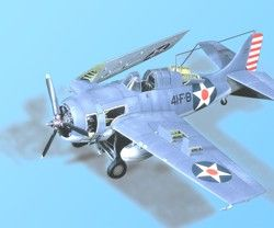 Aires 1/48  F4F-4 Wildcat Detail Set # 4058