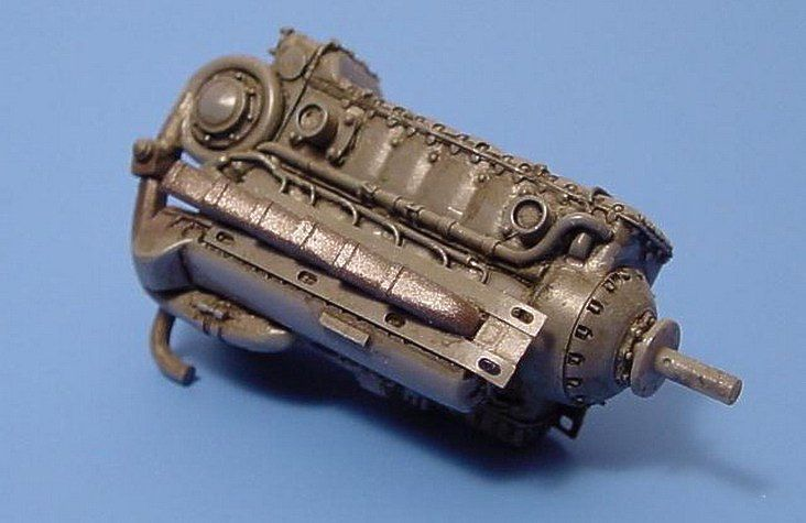 Aires 1/48  Junkers Jumo 211 Engine # 4006