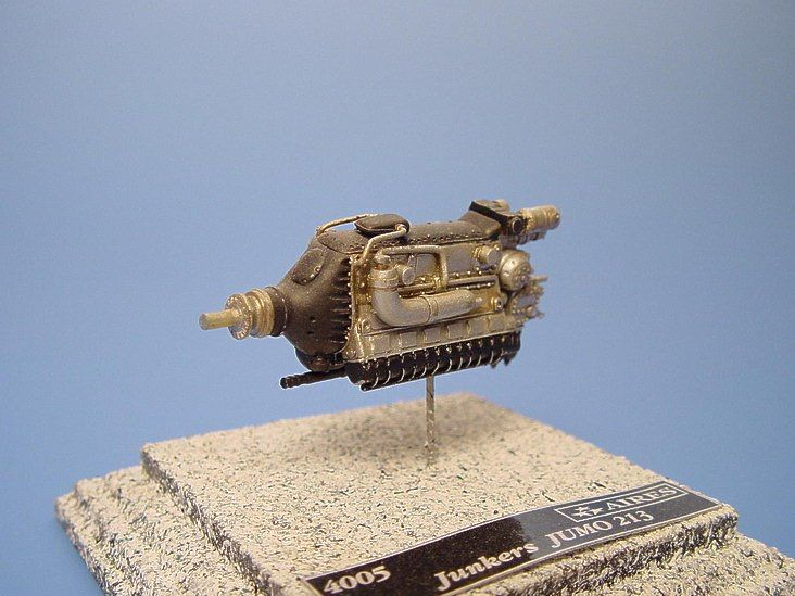 Aires 1/48  Junkers Jumo 213 Engine # 4005