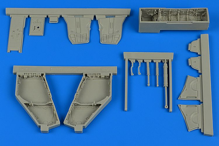 Aires 1/48 McDonnell F-4J/S Phantom II Wheel Bay # 4766