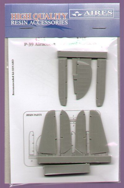 Aires 1/48  P-39 Airacobra Control Surfaces # 4293
