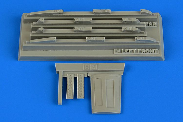 Aires 1/48 Sukhoi Su-17M3/M4 'Fitter' K Empty Chaff/Flare Dispensers # 4743