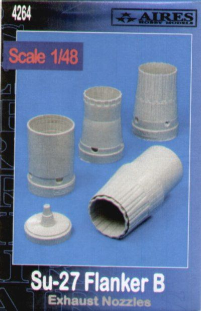 Aires 1/48  Sukhoi Su-27 Flanker B Exhaust Nozzles # 4264