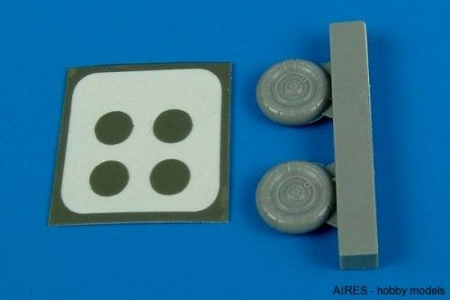 Aires 1/72 Bf 109G-10/K wheels & paint masks # 7224