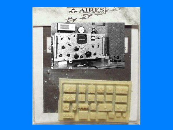 Aires 1/72  German WWII Aircraft Radio Set # 7047