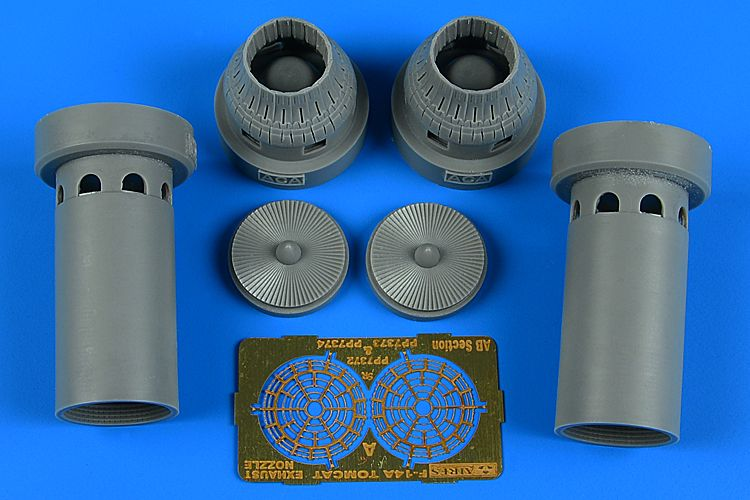 Aires 1/72 Grumman F-14A Tomcat Exhaust Nozzles - Closed Position # 7372
