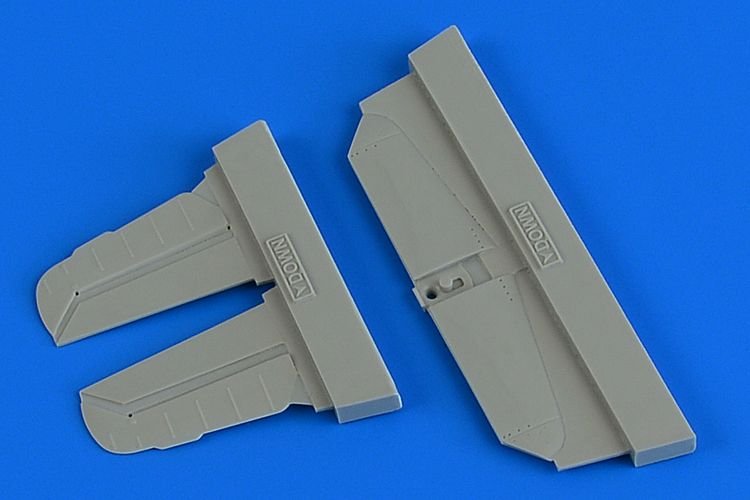 Aires 1/72 Messerschmitt Bf-109G-6 Separate Control Surfaces # 7371