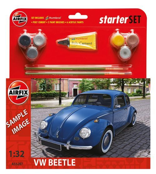 Airfix 1/32 VW Beetle Starter Set # A55207