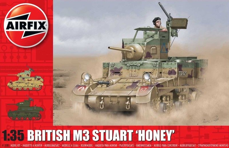 Airfix 1/35 British M3 Stuart 'Honey' # A1358